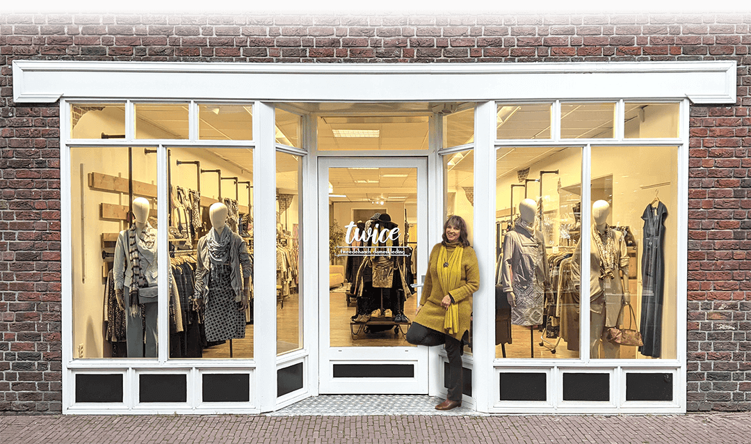 Twice tweedehands dameskleding winkelpand